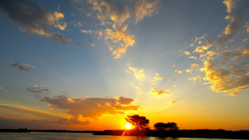 Botswana Chobe Sunset