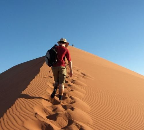 Dune 45 hiking